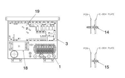 Hitachi Air Conditioning Spare Part E01295 TRANSFORMER For XEK22108A